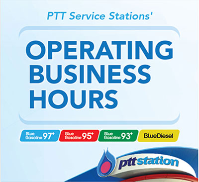 PTT SERVICE STATIONS OPERATING BUSINESS HOURS